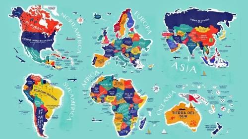 Este es el significado de los nombres de todos los países del mundo. ¿Qué s..