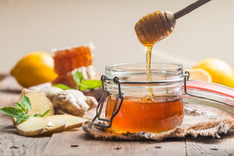 miel y jengibre