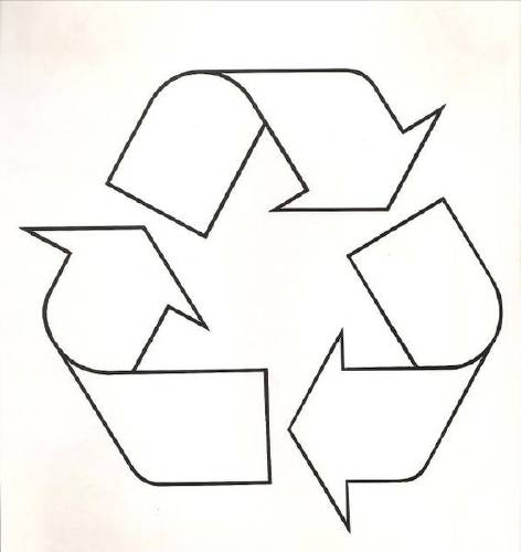 Historia del símbolo de reciclaje