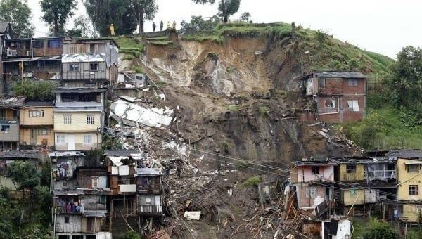 Colombia otra vez: las lluvias arrasaron con otro pueblo