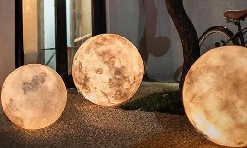 Cómo hacer una lámpara-luna
