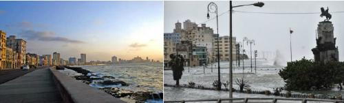 El antes y después de hermosos lugares afectados por los desastres naturales ..