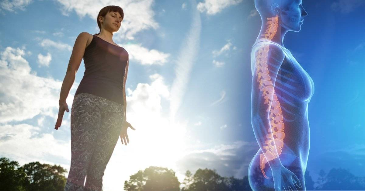 Protege tu columna y alinea tu cuerpo así