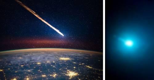 Un meteorito azul cayó en Estados Unidos y las imágenes son geniales