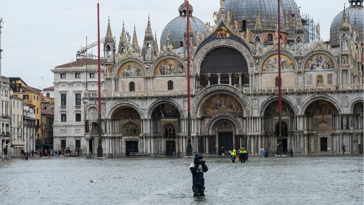 Los tesoros culturales de Venecia están en serio peligro