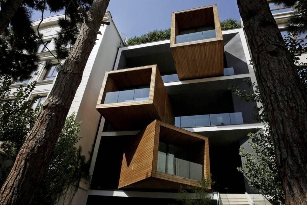 Una casa sustentable que se transforma con el estado del clima