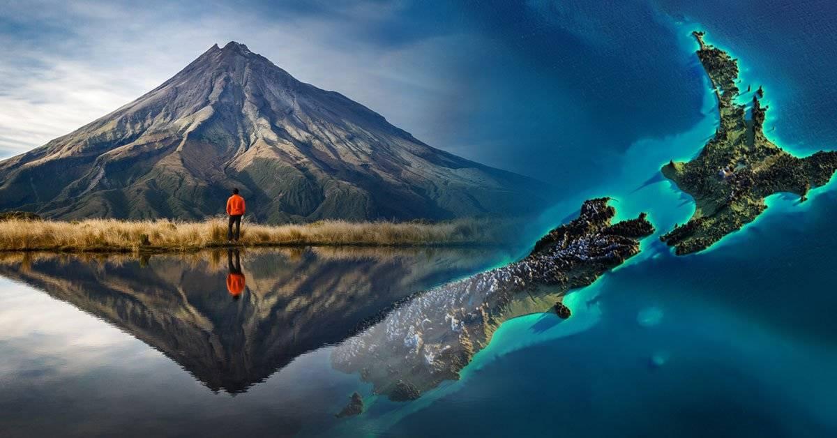 Así es Zealandia, el continente sumergido que probablemente no conocías