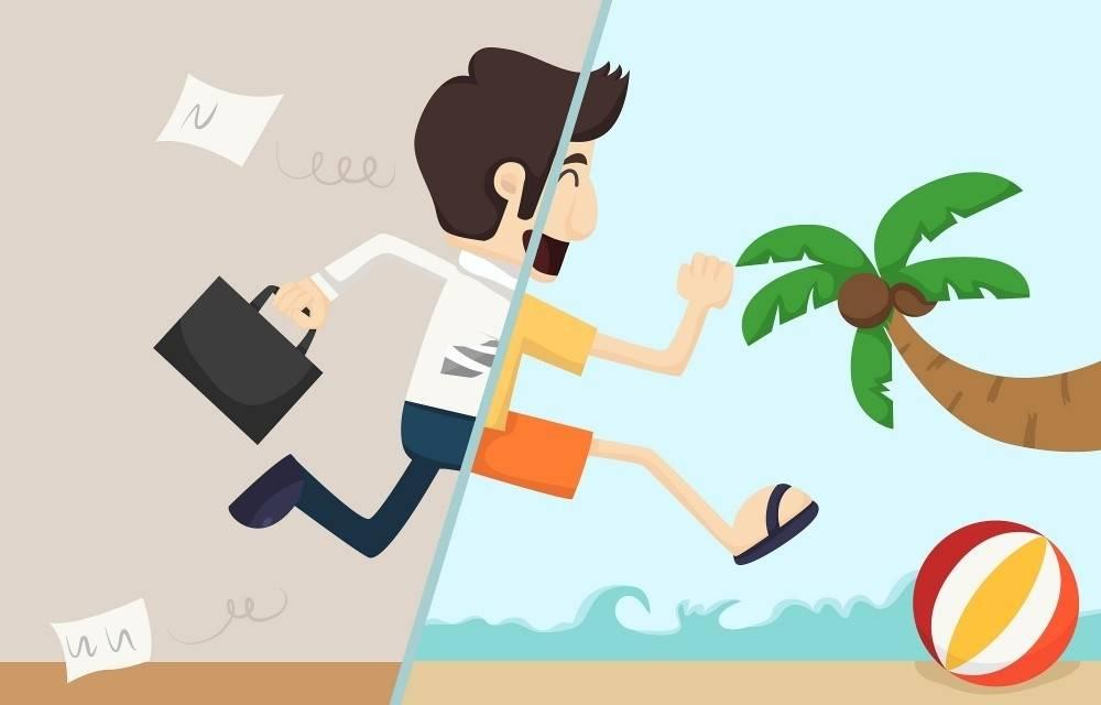 ¿Cómo lograr desconectarse del trabajo en las vacaciones?