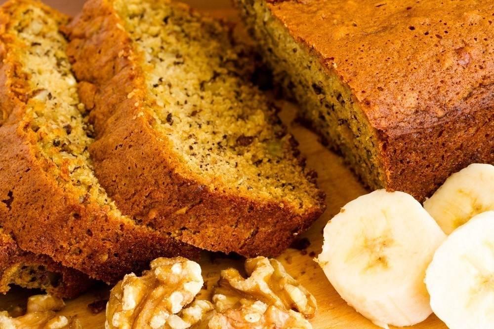 Receta fácil de Budín de Banana, saludable y delicioso!