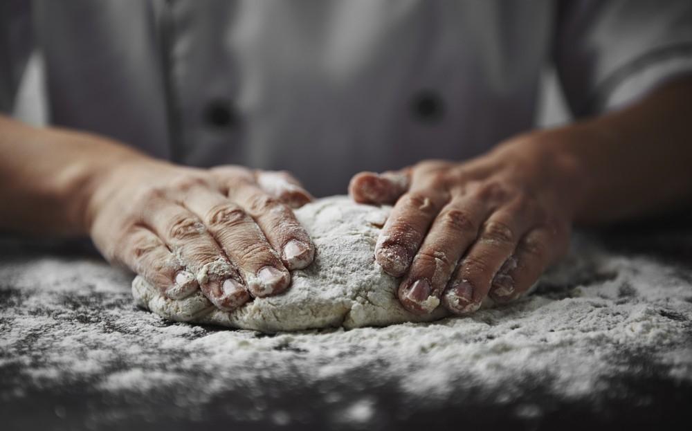 masa de harina de arroz