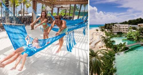 Así es pasar las vacaciones bajo el sol del Caribe, en medio de un tesoro natural