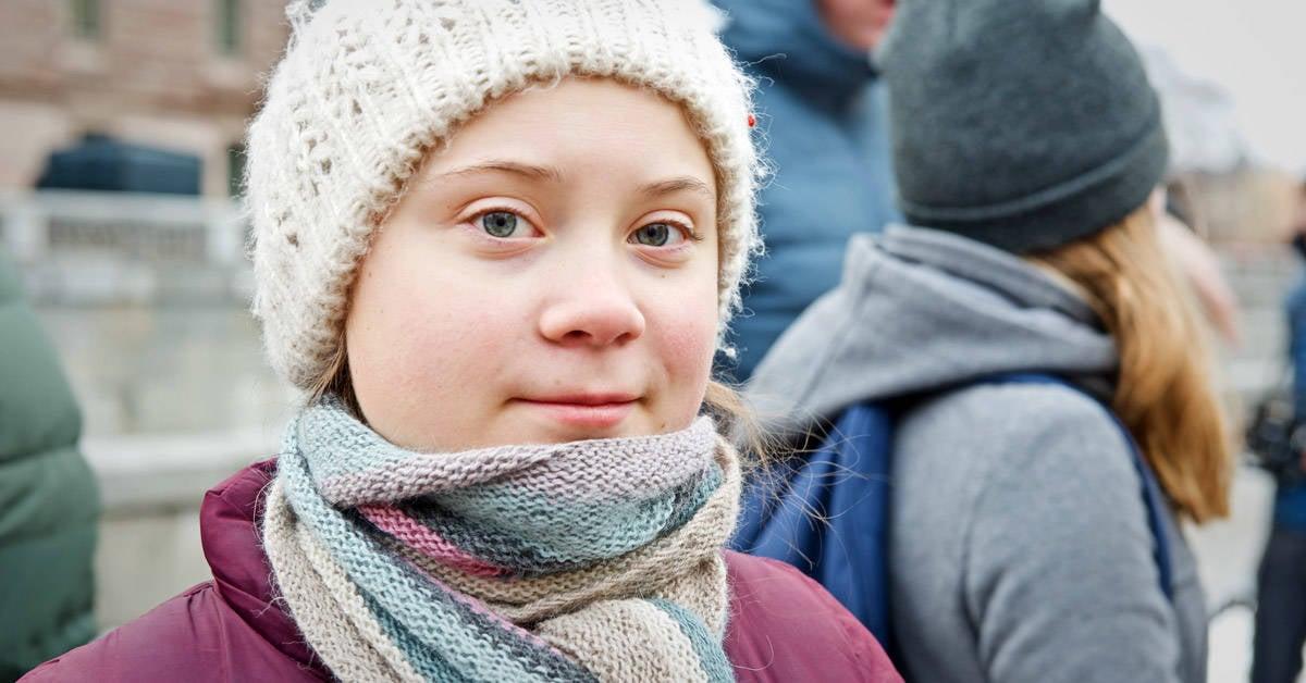 Esta joven es una de las voces más importantes contra el cambio climático
