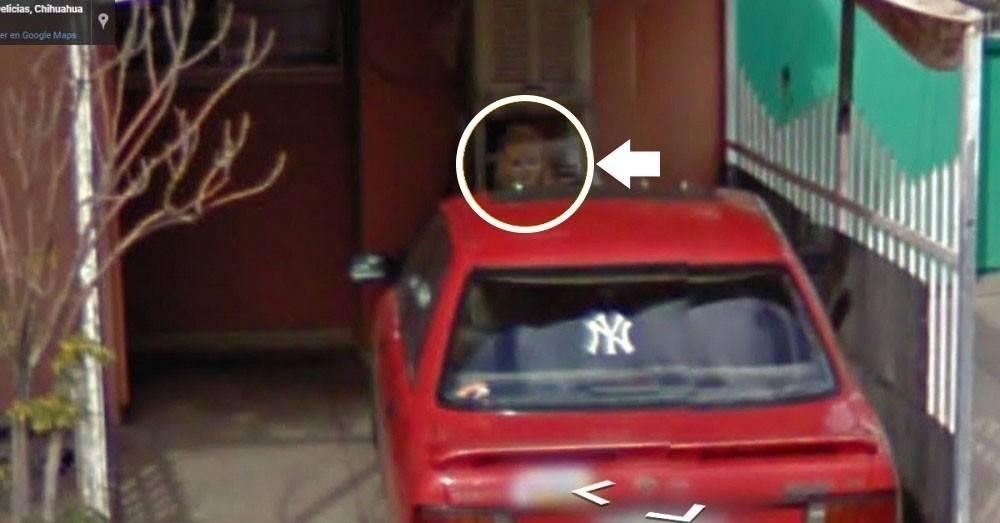 """Encuentran una """"niña fantasma"""" en una foto satelital de México: esta es la h.."""