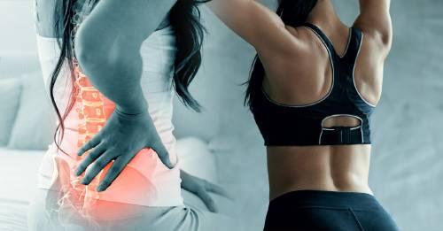 Ejercicio suave para fortalecer todos los días la espalda