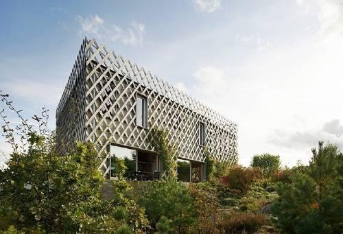 Una casa convertida en jard n vertical - Jardin vertical en casa ...