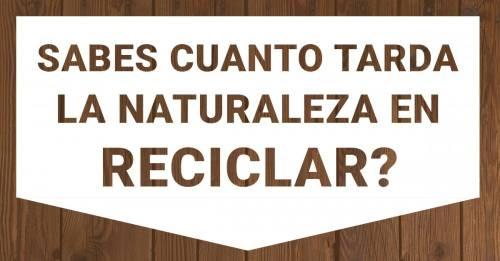 3 cosas que usas todos los días y la naturaleza no puede reciclar
