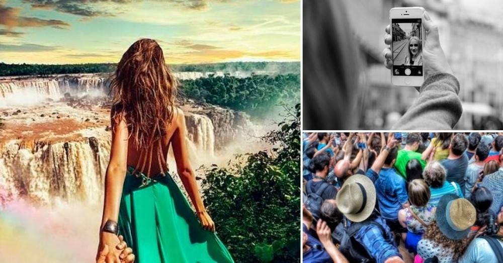 Esta es la realidad detrás de las perfectas fotografías de viajes en Instagram