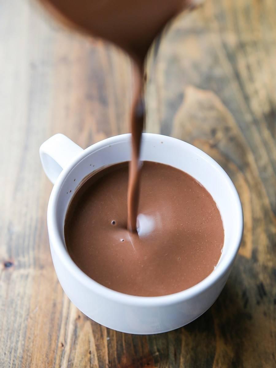 Chocolatada de almendras fácil, deliciosa y saludable