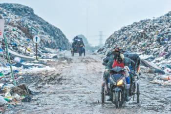 basura desechos plasticos india