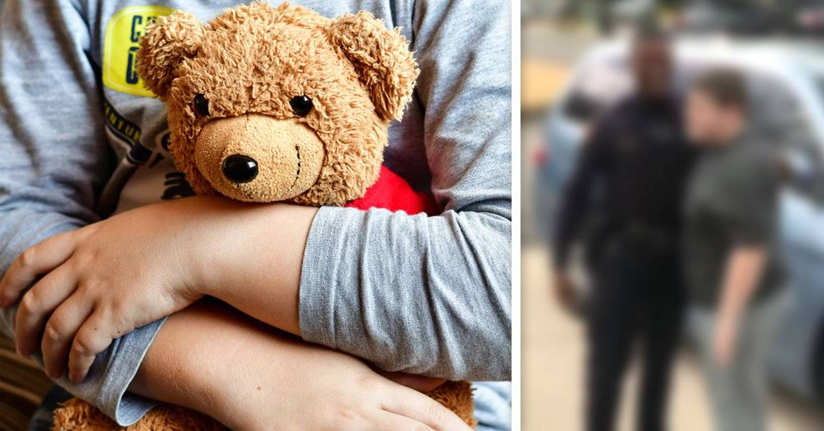 Un niño llamó al 911 porque no encontraba su peluche y la policía salió a buscarlo