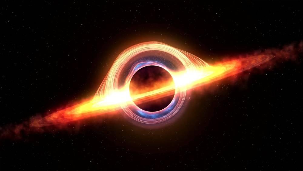 Descubren un agujero negro capaz de expulsar material hacia el espacio