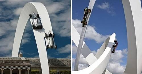 10 confusas esculturas que desafían la fuerza de la gravedad
