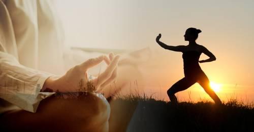 Postura de Chi Kung para fortalecer músculos y llevar serenidad a tu alma