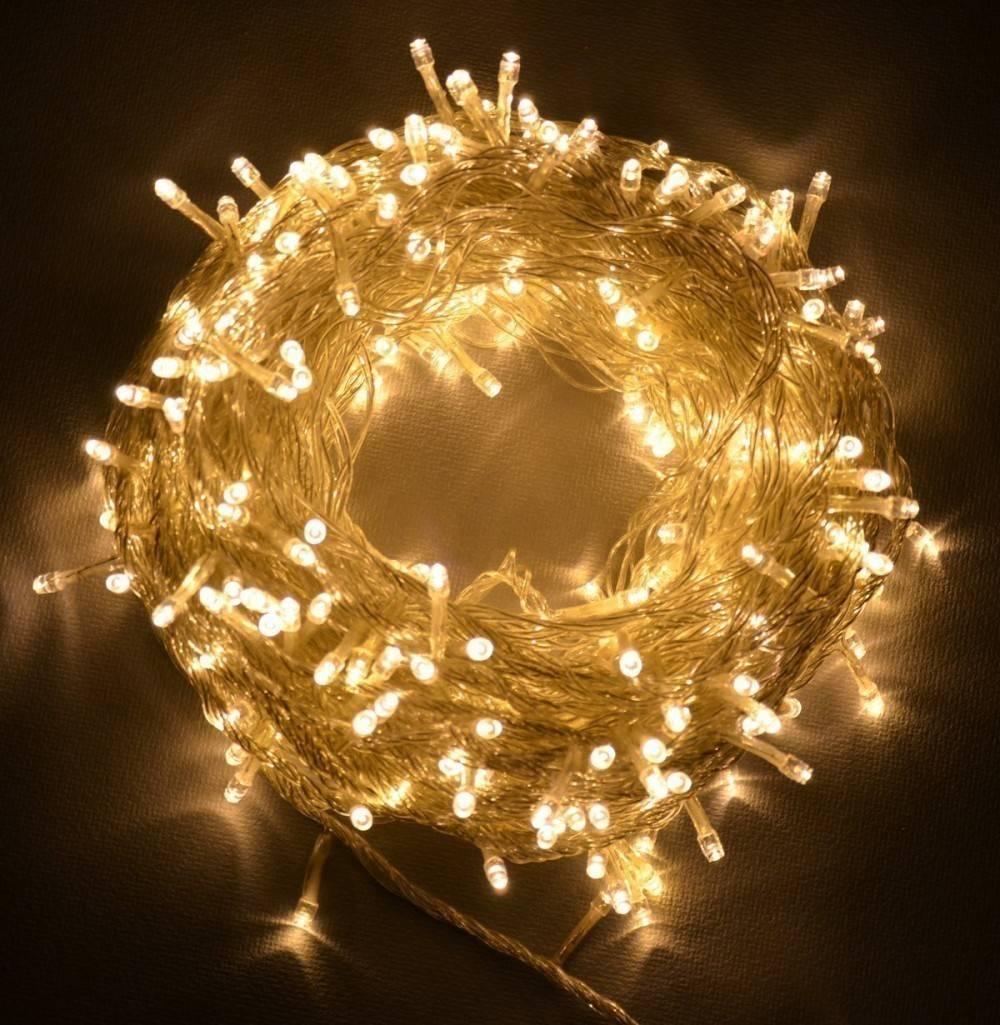 17 ideas para decorar con luces en cadena