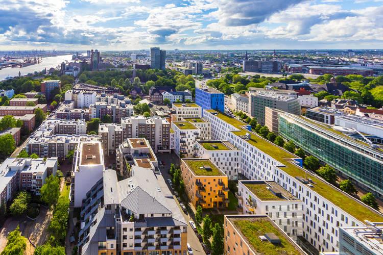 ciudad techos verdes