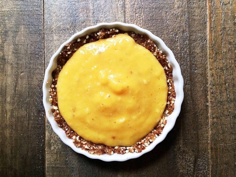 Tartaletas de mango ¡sin cocción!