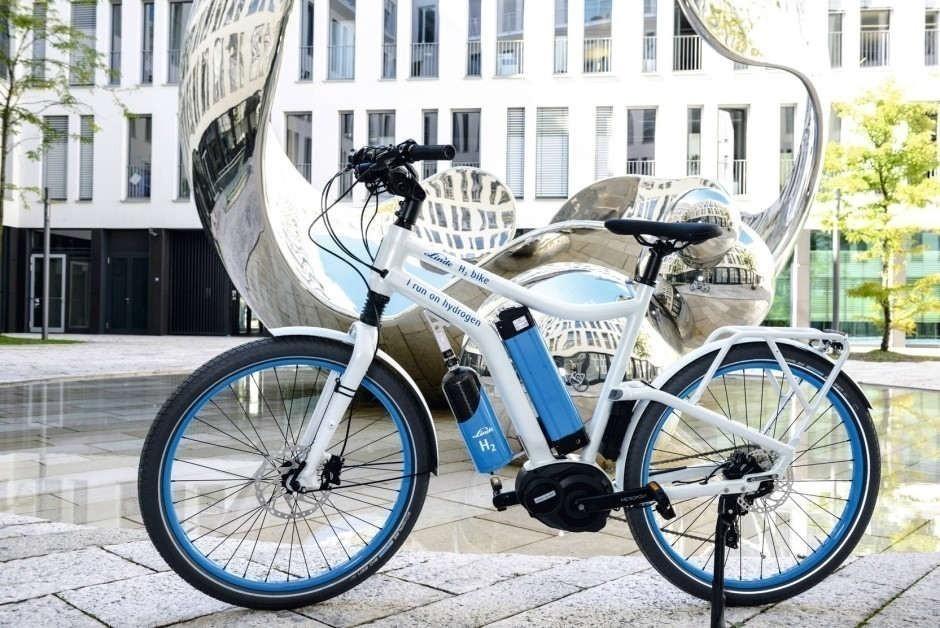 bicicleta eléctrica, ¡impulsada por hidrógeno!-