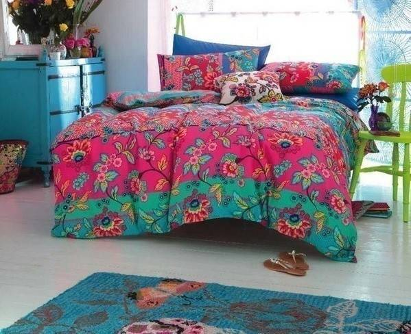 Ideas para decorar habitaciones con mucho color