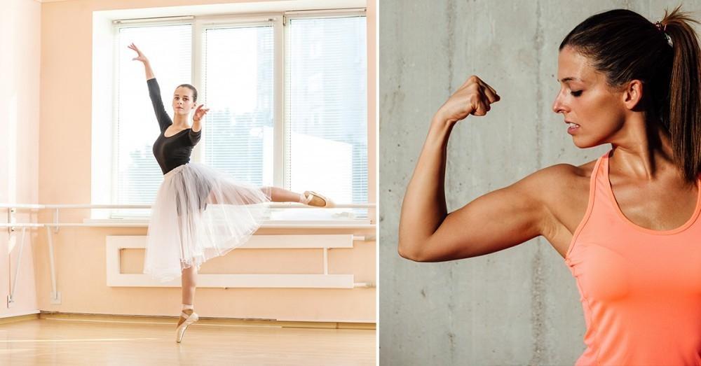 cómo perder peso como una bailarina