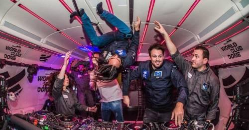 Científicos, astronautas y 50 DJs celebraron la primera fiesta en gravedad ce..