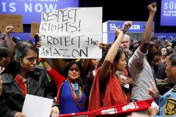 protesta amazonas