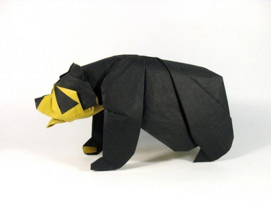 Los increíbles origamis de Nguyen Hùng Cuong- panda