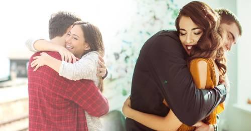 ¿Sabías que cada forma de abrazar tiene un significado?