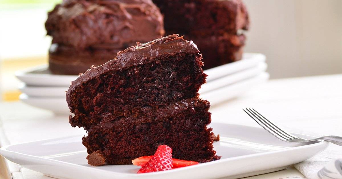 Torta húmeda Power de chocolate
