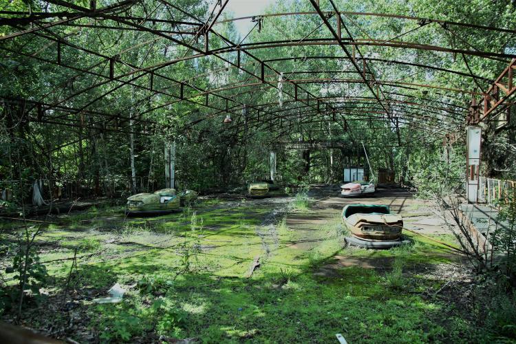 chernobil abandonado