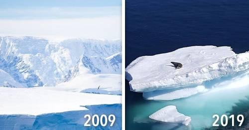 #10yearschallenge: un antes y después que no tiene nada de divertido