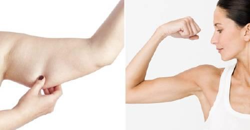 Cómo eliminar la grasa debajo de los brazos