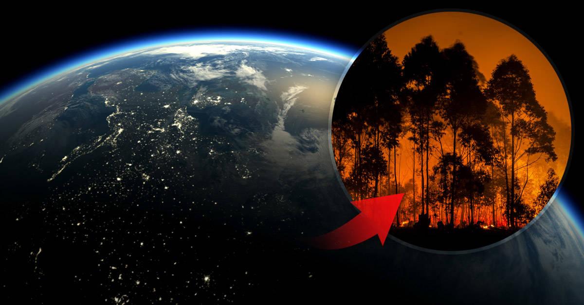 Los incendios que devastan el Ártico son visibles desde el espacio