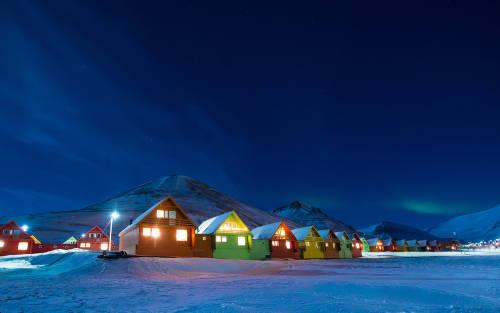 Cómo es vivir una semana de oscuridad en el Ártico