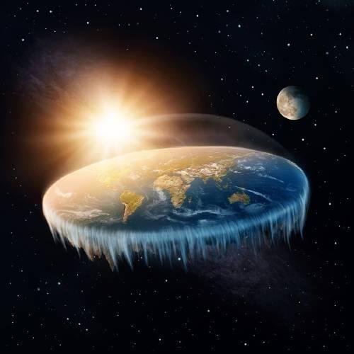 """Los defensores de la teoría de la """"Tierra plana"""" llegarán al """"borde de la Tierra"""