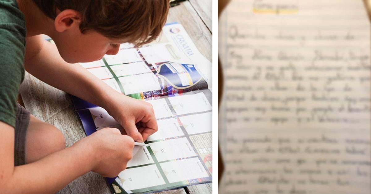 Esta niña le escribió a Panini y su carta se hizo viral. ¡Descubre por qué!
