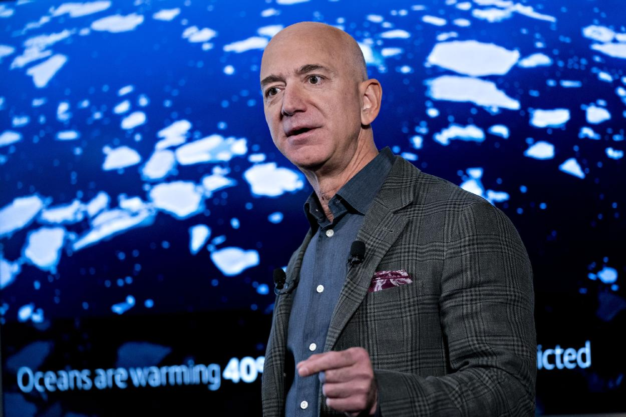 Jeff Bezos donará $10 mil millones para ayudar a combatir el cambio climático