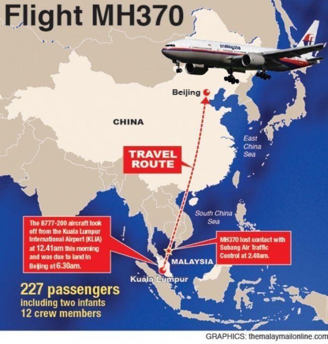 Elvuelo desaparecido llevaba 227 pasajeros y una tripulación de 12 personas