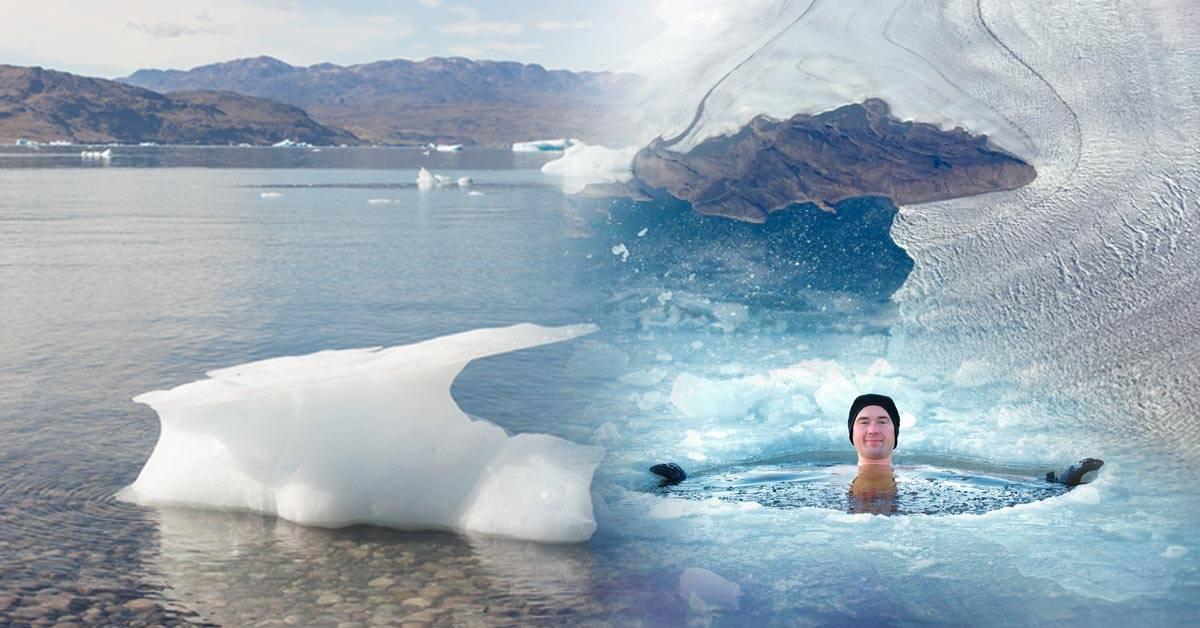 Pasan un día de playa en el Ártico: ¿qué está sucediendo?