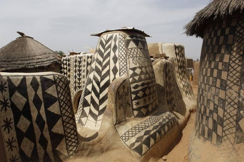 Tiébélé: El pueblo africano donde las casas son obras de arte