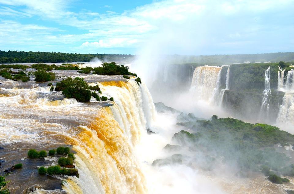 Las Cataratas del Iguazú fueron nombradas como la tercera maravilla incuestionab
